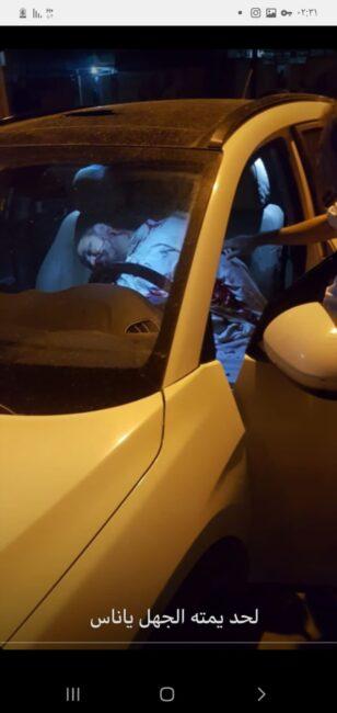 ترور کارمند بانک اهوازی درون خودروی شاسی بلند (عکس)