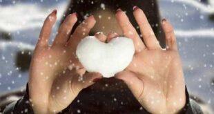 عکس پروفایل دخترونه زمستانی و برفی زیبا و خاص برای دختران