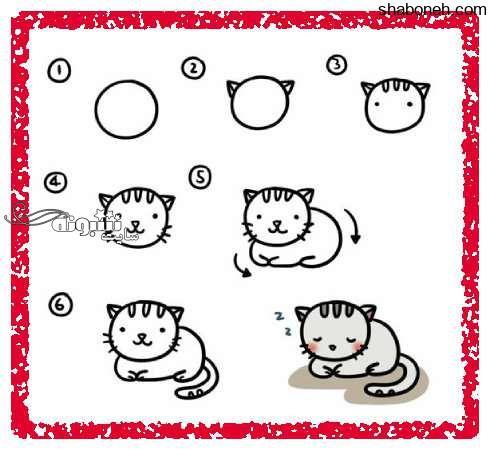 آموزش نقاشی برای کودکان (آموزش تصویری)