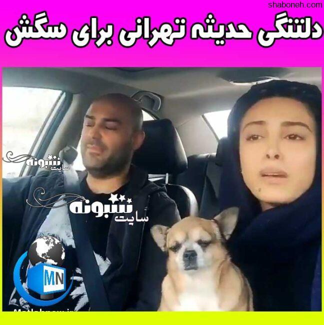 پینگیل سگ خانگی حدیثه تهرانی گریه و زاری (فیلم)