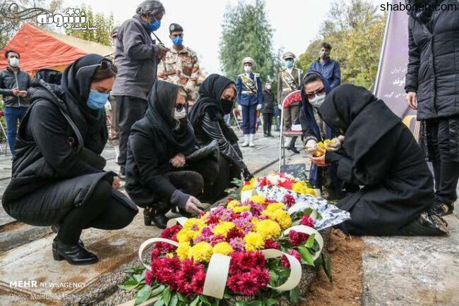 عکسهای خاکسپاری چنگیز جلیلوند مراسم تشییع