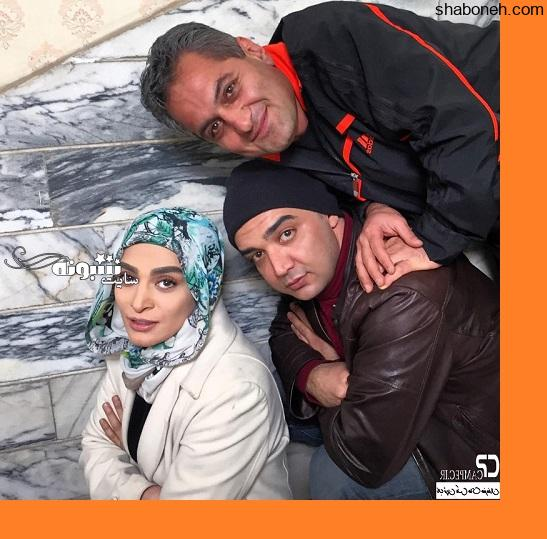 بازیگران سریال پشت بام تهران پشت صحنه سریال پشت بام تهران