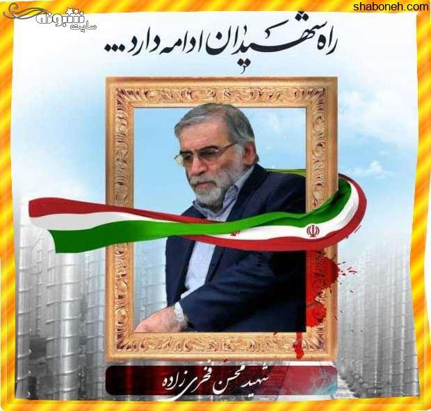 عکس پروفایل شهید محسن فخری زاده دانشمند هسته ای برای استوری
