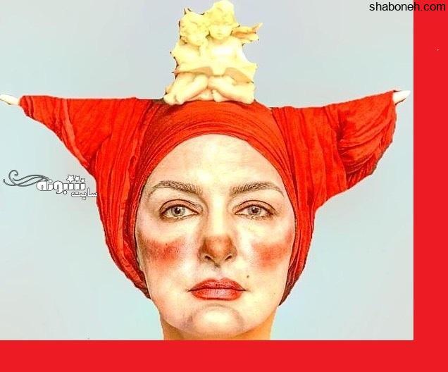 مریم شیرازی بازیگر نقش نسترن در سریال مسافران عکس جنجالی