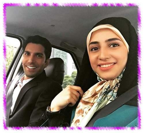 زهره نعیمی بازیگر نقش زهره در سریال خانه امن +عکس جنجالی