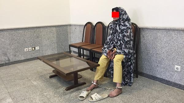 زن شیشه ای مرتکب قتل مواد فروش شد +عکس