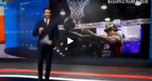 مجری شبکه ایران اینترنشنال جرات ندارد اسم شکست عربستان را بیاورد