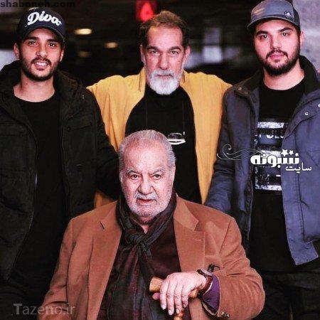 پدر و برادر سینا مهراد (بازیگر) , سینا مهراد و برادرش ساعد سهیلی و پدر سعید سهیلی