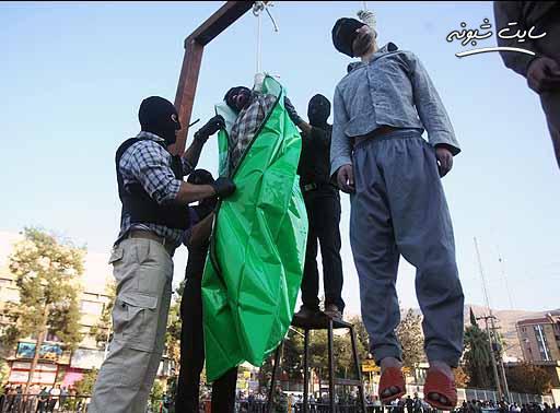 اعدام دو داعشی در خوزستان +عکس