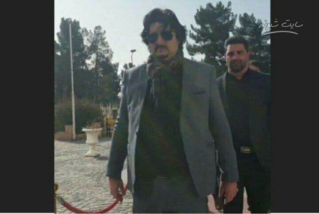 شهرام نیریزی مشاور رسانه ای شهردار کرمانشاه کیست؟ ماجرای لحظه ورود