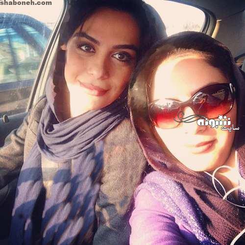 بازیگر نقش سمانه در سریال باخانمان کیست (عکس مارال فرجاد و خواهر مونا فرجاد)