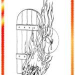 20 نقاشی ایام فاطمیه برای کودکان (آموزش نقاشی شهادت حضرت فاطمه)