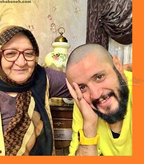 مادر مهران رنجبر بازیگر و همسرش + خانواده و فیلم های سینمایی