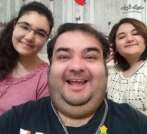 دختران (فرزندان) علی برقی + اینستاگرام