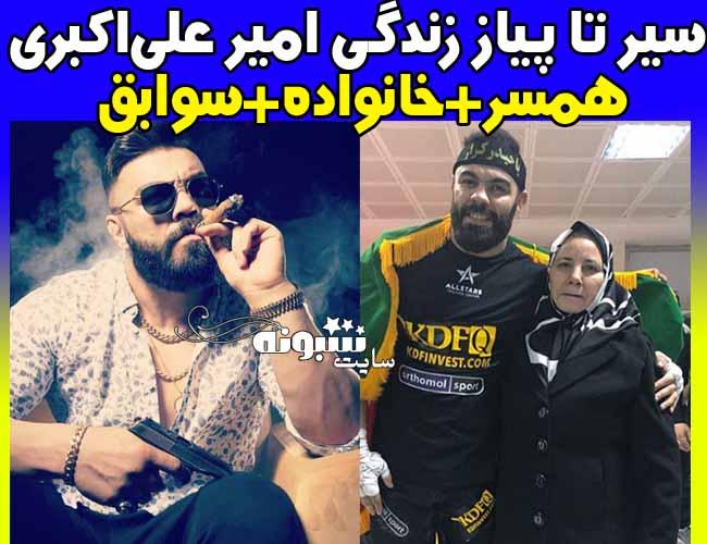 زندگینامه امیر علی اکبری