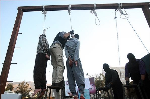 اعدام کفتارهای فریمان تجاوز به زن کوهنورد در مقابل چشم شوهرش