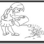 آموزش نقاشی روز درختکاری برای مدرسه (آموزش 20 مدل مختلف)