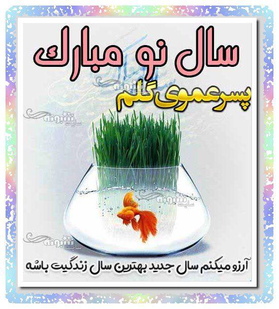پیام تبریک سال نو 1400 برای پسرعمو (عید نوروز مبارک) +عکس نوشته