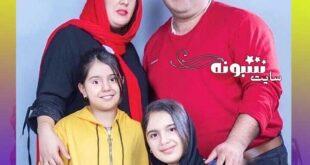 همسر کاظم نوربخش بازیگر نون خ کیست؟ و عکس دخترانش