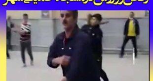 ورزش و رقص با آهنگ و موسیقی در مسجد خمینی شهر اصفهان (فیلم)