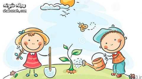 نقاشی روز زمین پاک برای مدرسه (نقاشی کودکانه روز زمین)