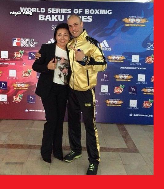 بیوگرافی احسان روزبهانی بوکسور و همسرش + فیلم مسابقات