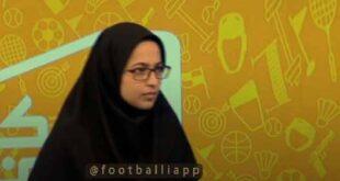 غش کردن مهمان شبکه ورزش در پخش زنده (فیلم)
