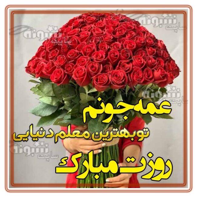 متن و پیام تبریک روز معلم به خاله و عمه (استیکر روز معلم 1400) مبارک را به همراه عکس نوشته و پروفایل