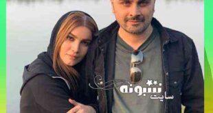 عکس متین ستوده و همسرش علی زندی جدید سال 1400