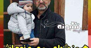 عکس هرمز شجاعی مهر و نوه اش آرسام موسوی +فرزند و دختر و پسرش