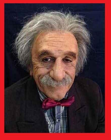 بیوگرافی و عکس رضا کیانیان در نقش انیشتین
