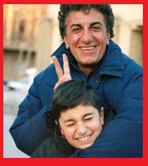 بیوگرافی و عکس رضا کیانیان بازیگر و پسرش در جوانی