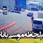 فیلم ترور موسی باباخانی سرکرده حزب دموکرات کردستان ایران