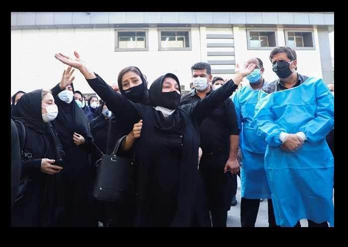 تصاویر تشییع و خاکسپاری فاطمه السادات میردیلمی پرستار ۵ آذر گرگان +درگذشت