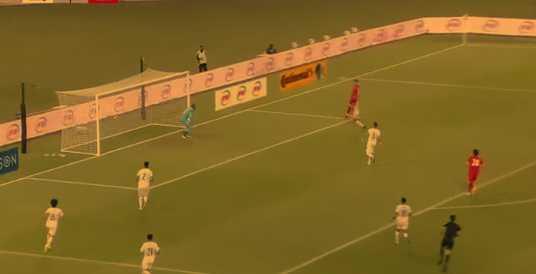 گل علیرضا جهانبخش به عراق مقدماتی جام جهانی (16 شهریور 1400)
