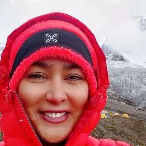 بیوگرافی کتایون محمودی فر کوهنورد و همسرش + عکس و اینستاگرام
