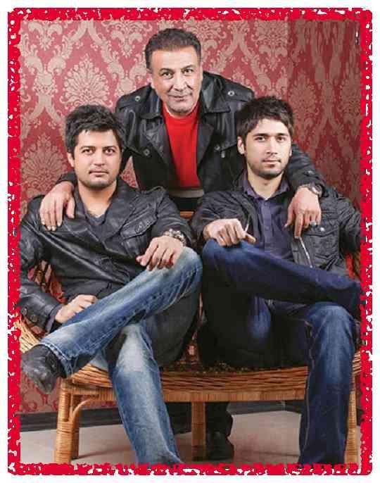 بیوگرافی عبدالرضا اکبری و  پسرانش