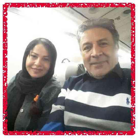 بیوگرافی عبدالرضا اکبری و همسرش