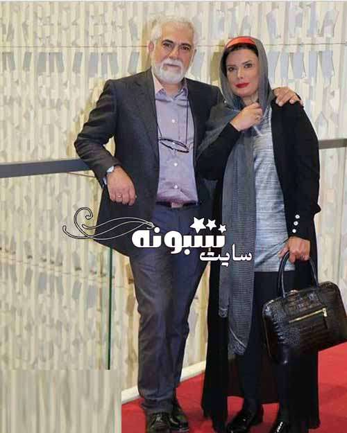 بیوگرافی عاطفه رضوی بازیگر و همسرش حسین پاکدل +فرزندان و عکس