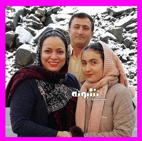 پدر و مادر مهسا سادات آقایی دوست (آسمانی شد) +عکس