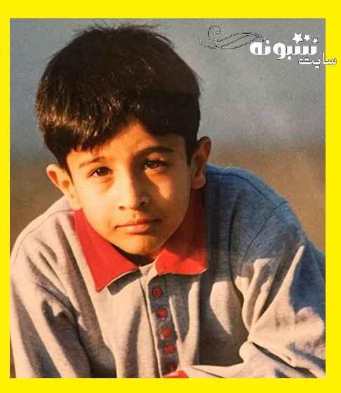 عکس کودکی مهرداد صدیقیان بازیگر