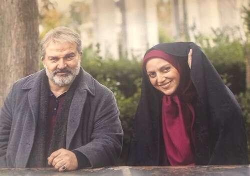 نسرین بابایی بازیگر نقش پروین و مهدی سلطانی بازیگر نقش محمود در افرا