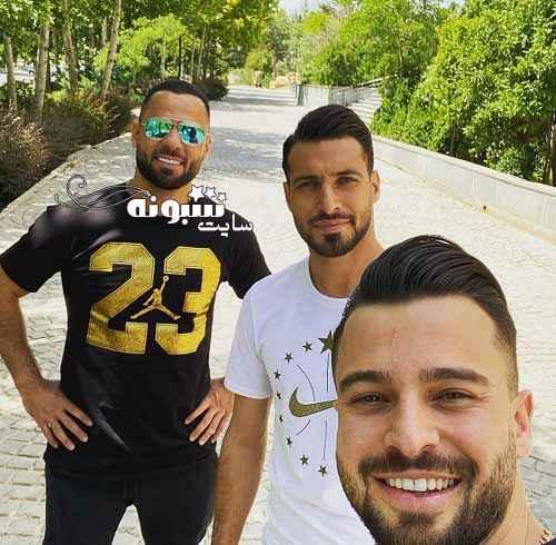 بیوگرافی و عکس سلفی سروش رفیعی فوتبالیست