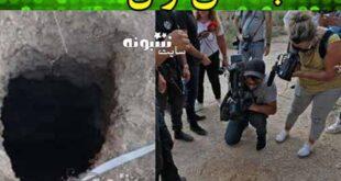 فیلم فرار 6 فسلطینی زندانی از زندان اسرائیل با قاشق و حفر تونل