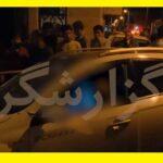 ماجرای حمله مسلحانه و رگبار بستن به دو جوان نظام آباد تهران سوار بر شاسی بلند
