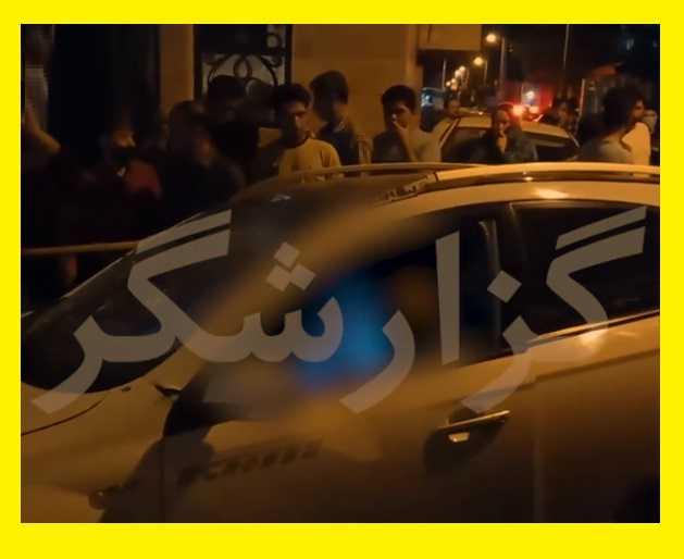 حمله مسلحانه و رگبار بستن به دو جوان نظام آباد تهران سوار بر شاسی بلند