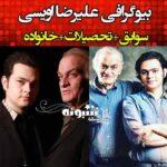 بیوگرافی علیرضا اویسی پسر فتحعلی اویسی کیست +عکس و اینستاگرام