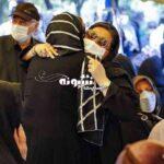 مراسم تشییع جنازه فتحعلی اویسی خاکسپاری +تصاویر و فیلم و عکس